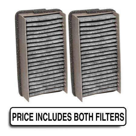 FilterHeads - AQ1010C Cabin Air Filter - Carbon Media, Absorbs Odors