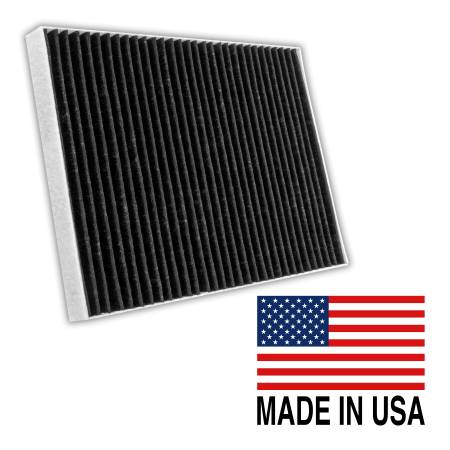 FilterHeads - AQ1205C Cabin Air Filter - Carbon Media, Absorbs Odors