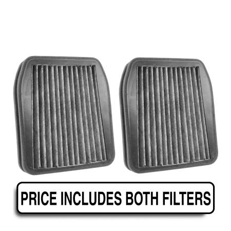 FilterHeads - AQ1208C Cabin Air Filter - Carbon Media, Absorbs Odors