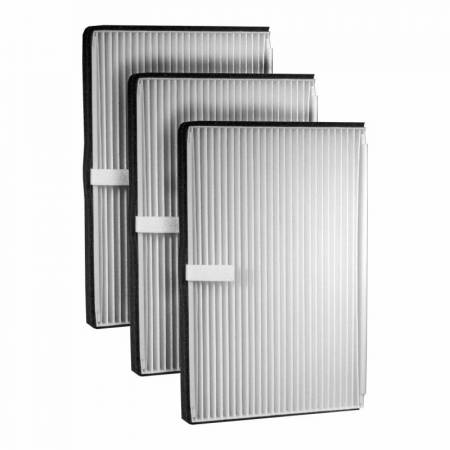 FilterHeads - AQ1001 Cabin Air Filter - Particulate Media 3PK - Buy 2, Get 1 Free!