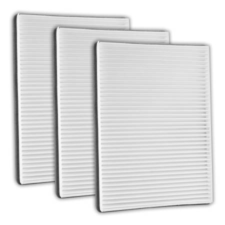 FilterHeads - AQ1014 Cabin Air Filter - Particulate Media 3PK - Buy 2, Get 1 Free!