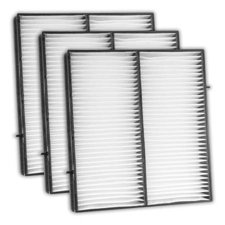 FilterHeads - AQ1019 Cabin Air Filter - Particulate Media 3PK - Buy 2, Get 1 Free!