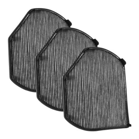FilterHeads - AQ1033C Cabin Air Filter - Carbon Media, Absorbs Odors 3PK - Buy 2, Get 1 Free!