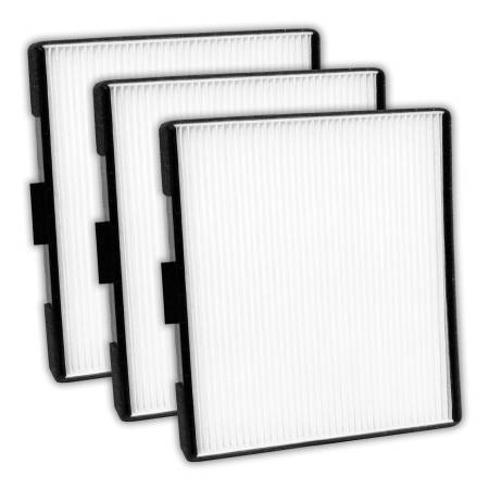 FilterHeads - AQ1053 Cabin Air Filter - Particulate Media 3PK - Buy 2, Get 1 Free!