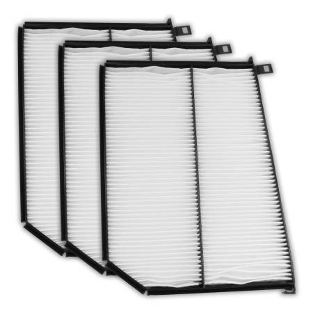 FilterHeads - AQ1057 Cabin Air Filter - Particulate Media 3PK - Buy 2, Get 1 Free!