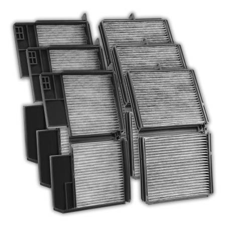 FilterHeads - AQ1061 Cabin Air Filter - Carbon Media, Absorbs Odors 3PK - Buy 2, Get 1 Free!
