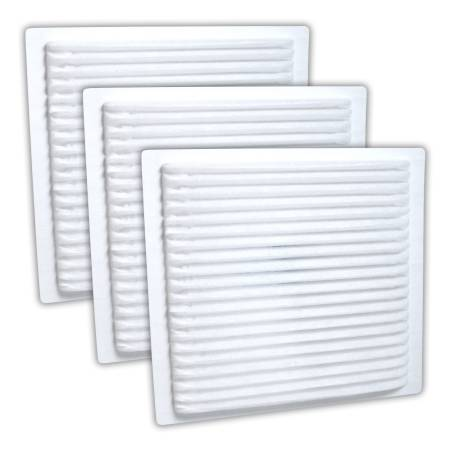 FilterHeads - AQ1062 Cabin Air Filter - Particulate Media 3PK - Buy 2, Get 1 Free!