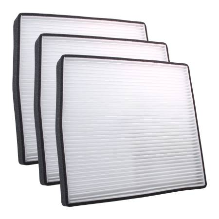 FilterHeads - AQ1065 Cabin Air Filter - Particulate Media 3PK - Buy 2, Get 1 Free!