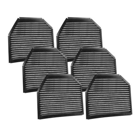 FilterHeads - AQ1078C Cabin Air Filter - Carbon Media, Absorbs Odors 3PK - Buy 2, Get 1 Free!