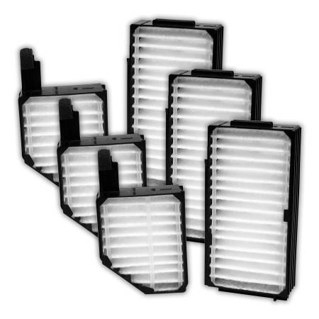 FilterHeads - AQ1090 Cabin Air Filter - Particulate Media 3PK - Buy 2, Get 1 Free!