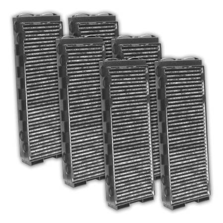 FilterHeads - AQ1093C Cabin Air Filter - Carbon Media, Absorbs Odors 3PK - Buy 2, Get 1 Free!