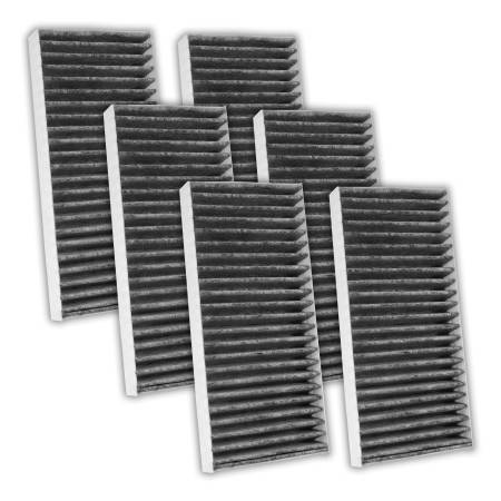 FilterHeads - AQ1095C Cabin Air Filter - Carbon Media, Absorbs Odors 3PK - Buy 2, Get 1 Free!