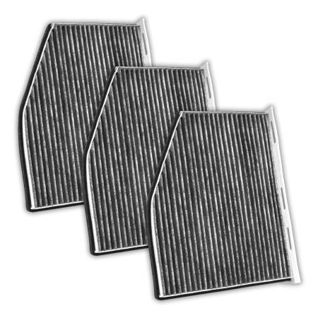 FilterHeads - AQ1099 Cabin Air Filter - Carbon Media, Absorbs Odors 3PK - Buy 2, Get 1 Free!