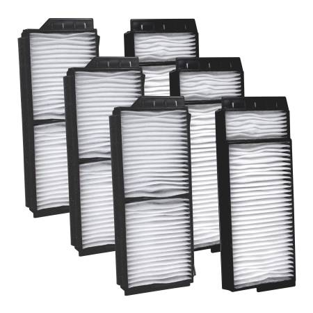 FilterHeads - AQ1116 Cabin Air Filter - Particulate Media 3PK - Buy 2, Get 1 Free!