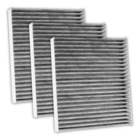 FilterHeads - AQ1119C Cabin Air Filter - Carbon Media, 3PK - Buy 2, Get 1 Free!