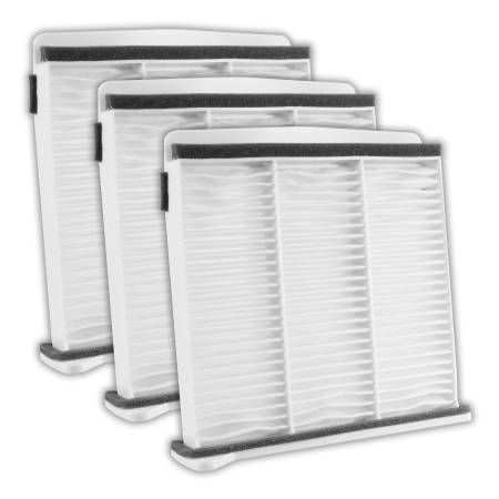 FilterHeads - AQ1129 Cabin Air Filter - Particulate Media 3PK - Buy 2, Get 1 Free!