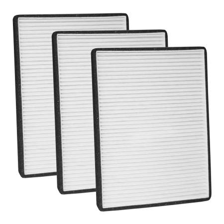 FilterHeads - AQ1130 Cabin Air Filter - Particulate Media 3PK - Buy 2, Get 1 Free!