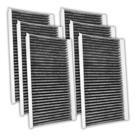 FilterHeads - AQ1134 Cabin Air Filter - Carbon Media, Absorbs Odors 3PK - Buy 2, Get 1 Free!