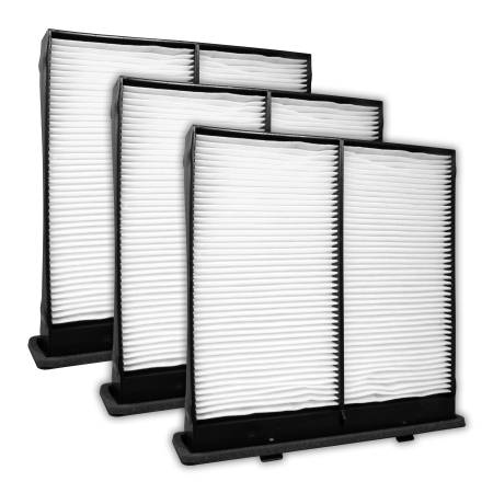 FilterHeads - AQ1149 Cabin Air Filter - Particulate Media 3PK - Buy 2, Get 1 Free!