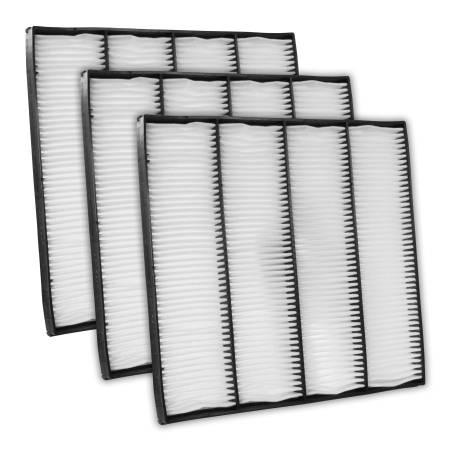 FilterHeads - AQ1150 Cabin Air Filter - Particulate Media 3PK - Buy 2, Get 1 Free!