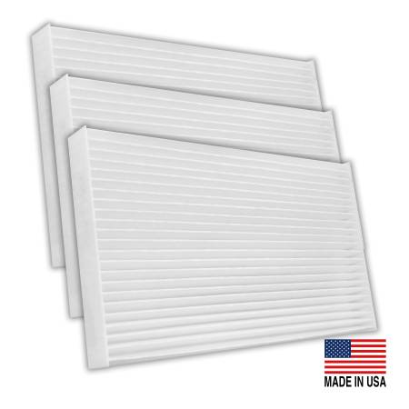 FilterHeads - AQ1154 Cabin Air Filter - Particulate Media 3PK - Buy 2, Get 1 Free!