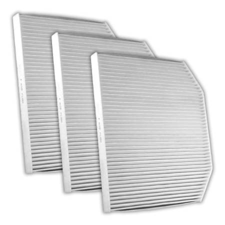 FilterHeads - AQ1158 Cabin Air Filter - Particulate Media 3PK - Buy 2, Get 1 Free!
