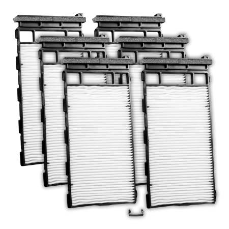 FilterHeads - AQ1166 Cabin Air Filter - Particulate Media 3PK - Buy 2, Get 1 Free!