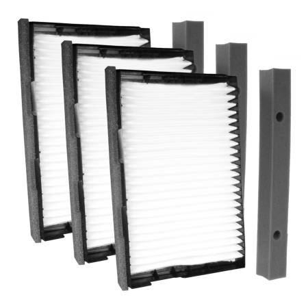 FilterHeads - AQ1169 Cabin Air Filter - Particulate Media 3PK - Buy 2, Get 1 Free!