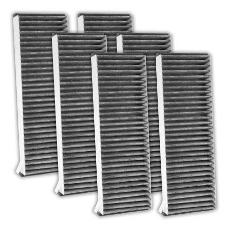 FilterHeads - AQ1177C Cabin Air Filter - Carbon Media, Absorbs Odors 3PK - Buy 2, Get 1 Free!