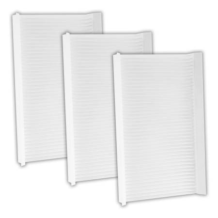 FilterHeads - AQ1181 Cabin Air Filter - Particulate Media 3PK - Buy 2, Get 1 Free!