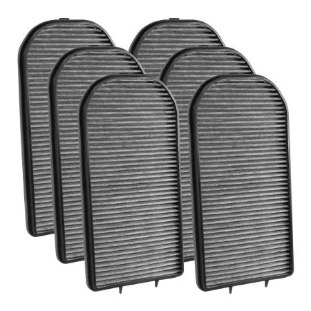 FilterHeads - AQ1183C Cabin Air Filter - Carbon Media, Absorbs Odors 3PK - Buy 2, Get 1 Free!