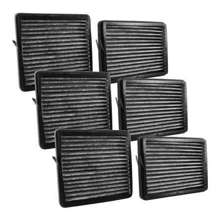 FilterHeads - AQ1184C Cabin Air Filter - Carbon Media, Absorbs Odors 3PK - Buy 2, Get 1 Free!