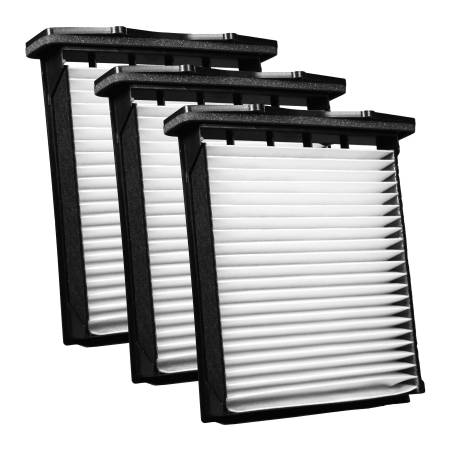FilterHeads - AQ1190 Cabin Air Filter - Particulate Media 3PK - Buy 2, Get 1 Free!