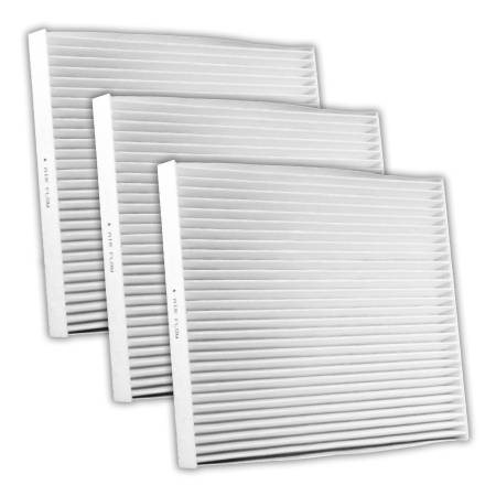 FilterHeads - AQ1191 Cabin Air Filter - Particulate Media 3PK - Buy 2, Get 1 Free!