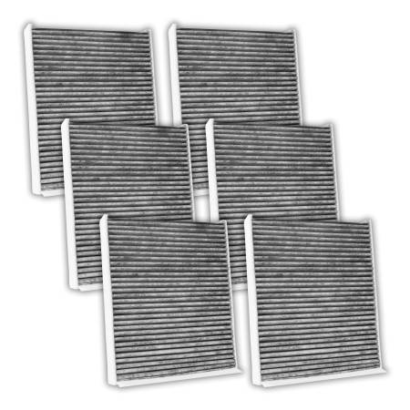 FilterHeads - AQ1194C Cabin Air Filter - Carbon Media, Absorbs Odors 3PK