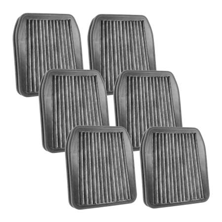 FilterHeads - AQ1208C Cabin Air Filter - Carbon Media, Absorbs Odors 3PK - Buy 2, Get 1 Free!