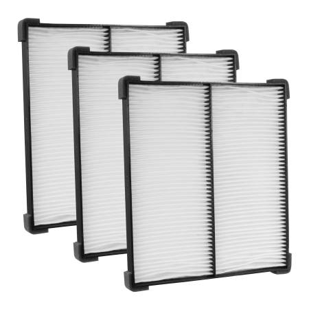 FilterHeads - AQ1214 Cabin Air Filter - Particulate Media 3PK - Buy 2, Get 1 Free!