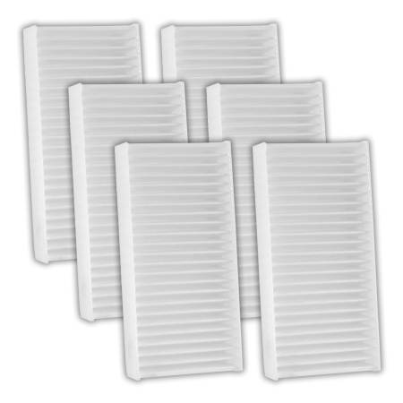 FilterHeads - AQ1229 Cabin Air Filter - Particulate Media 3PK - Buy 2, Get 1 Free!