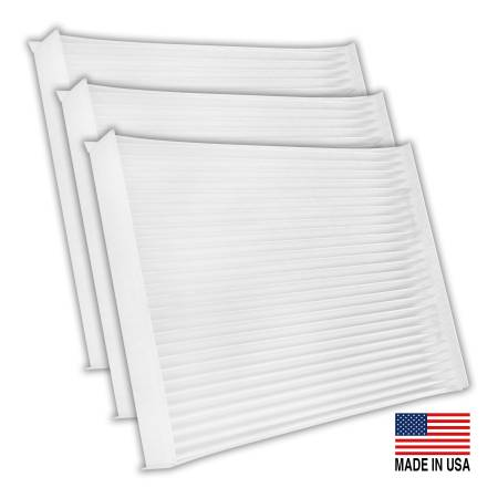 FilterHeads - AQ1251 Cabin Air Filter - Particulate Media 3PK - Buy 2, Get 1 Free!