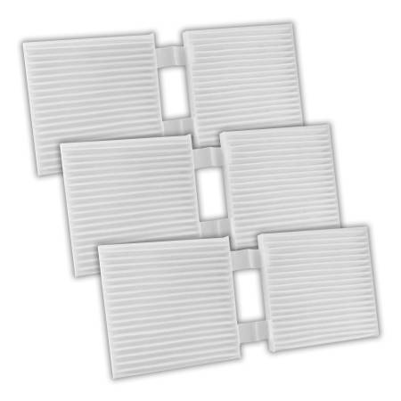 FilterHeads - AQ1234 Cabin Air Filter - Particulate Media 3PK - Buy 2, Get 1 Free!