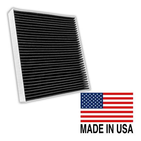 FilterHeads - AQ1242C Cabin Air Filter - Carbon Media, Absorbs Odors