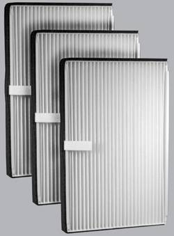 FilterHeads - AQ1001 Cabin Air Filter - Particulate Media 3PK - Buy 2, Get 1 Free!