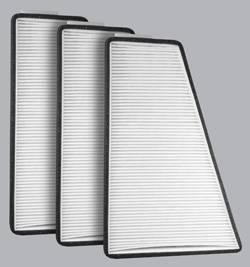 FilterHeads - AQ1003 Cabin Air Filter - Particulate Media 3PK - Buy 2, Get 1 Free!