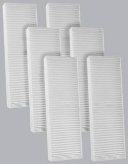 FilterHeads - AQ1007 Cabin Air Filter - Particulate Media 3PK - Buy 2, Get 1 Free!
