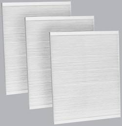 FilterHeads - AQ1016 Cabin Air Filter - Particulate Media 3PK - Buy 2, Get 1 Free!