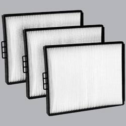 FilterHeads - AQ1021 Cabin Air Filter - Particulate Media 3PK - Buy 2, Get 1 Free!