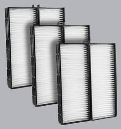 FilterHeads - AQ1022 Cabin Air Filter - Particulate Media 3PK - Buy 2, Get 1 Free!