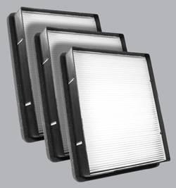 FilterHeads - AQ1026 Cabin Air Filter - Particulate Media 3PK - Buy 2, Get 1 Free!
