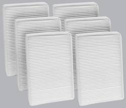 FilterHeads - AQ1031 Cabin Air Filter - Particulate Media 3PK - Buy 2, Get 1 Free!