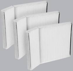 FilterHeads - AQ1035 Cabin Air Filter - Particulate Media 3PK - Buy 2, Get 1 Free!